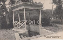 CPA Saint-Amand-Thermal - Source De L'évêque D'Arras - Saint Amand Les Eaux