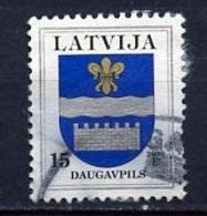 Lettonie - Lettland - Latvia 2000 Y&T N°492 - Michel N°521 (o) - 15s Armoirie De Daugavpils - Lituanie