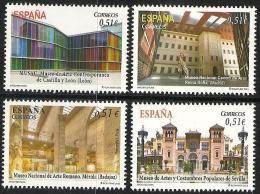 2012-ED. 4748 A 51  SERIE COMPLETA- ARQUITECTURA.MUSEOS.-NUEVO - 2011-... Nuevos & Fijasellos