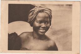 DAV : Afrique :  Jeune  Femme  ( écrite à  Saiki  1951 ) - Non Classés