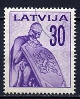 Lettonie - Lettland - Latvia 1992 Y&T N°293 - Michel N°328 (o) - 30k Chevalier - Lituanie