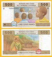 Central African States 500 Francs Cameroon (U) P-206Ue 2002 UNC Banknote - États D'Afrique Centrale