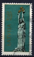 Lettonie - Lettland - Latvia 1991 Y&T N°279 - Michel N°319 (o) - 20k Statue De La Liberté à Riga - Lituanie