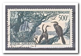 Frans Equatoriaal Afrika 1953, Gestempeld USED, Birds - France (former Colonies & Protectorates)