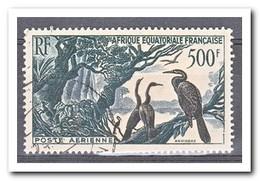 Frans Equatoriaal Afrika 1953, Gestempeld USED, Birds - Andere