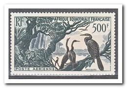 Frans Equatoriaal Afrika 1953, Plakker MH, Birds - France (former Colonies & Protectorates)