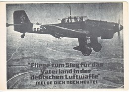 Propaganda Card  LUFTWAFFE - Covers & Documents
