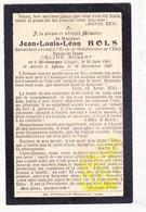 DP Im. Mort. - Jean Louis L. Bols ° Saint-Georges-sur-Meuse Liège 1863 † Ieper 1907 X Cèline Rosart - Images Religieuses