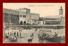 Casablanca * Le Port    (scan Recto Et Verso ) - Casablanca