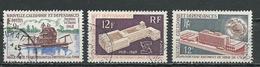 NLLE CALÉDONIE Scott 368, 379, 382 Yvert 352, 363, 367 (3) O Cote 3,75 $ 1968-70 - Nouvelle-Calédonie