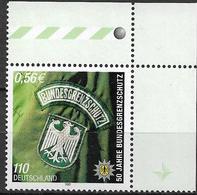 2001 Deutschland Allm. Fed. Germany Mi. 2175 **MNH  EOR  50 Jahre Bundesgrenzschutz - BRD