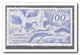 Frans West Afrika 1947, Geen Gom, Birds ( No Gum ) - France (former Colonies & Protectorates)
