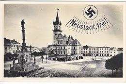 POST CARD   AUSTRIA  REAL  PHOTO  USED  1938 - War 1939-45