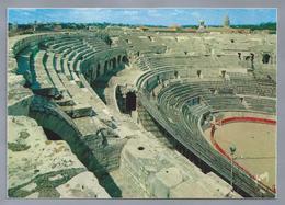 FR.- NIMES. Les Arènes. Amphitheatre Romain. Ongelopen. - Nîmes