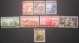 Poland 1943 London Issue, Complete Set, Mi #368-375, MNH CV EUR 35 - 1939-44: 2ème Guerre Mondiale