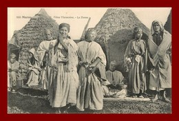 Maroc * Fetes Marocaine * La Danse    (scan Recto Et Verso ) - Maroc