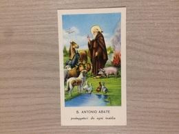 Santino S. Antonio Abate - Images Religieuses