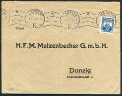 1922 Denmark 40 Ore Reunion Copenhagen Danske Retro Cover - Danzig - 1913-47 (Christian X)