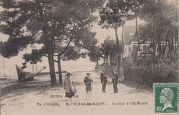 CPA île D'Oléron - Saint-Trojan-les-Bains - Avenue Félix-Faure (avec Animation) - Ile D'Oléron