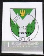 2016 Finland, Rovaniemi Regional Stamp Fine Used. - Finlande