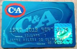 LSJP BRAZIL CREDIT CARD C & A SHOP 10/1999 (2) - Cartes De Crédit (expiration Min. 10 Ans)