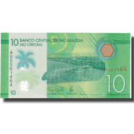 Billet, Nicaragua, 10 Cordobas, 2014, 2014, NEUF - Nicaragua