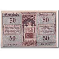 Billet, Autriche, Zeillern, 50 Heller, Paysage, SPL, Mehl:1263d - Autriche