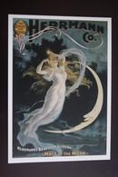 Old Circus. Illusionist / Illusionniste -Taschen Serie - HERRMANN - Art Nouveau - Cirque