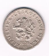 20 HALLER  1926  TSJECHOSLOWAKIJE /2545/ - Tchécoslovaquie