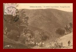 Colonne Des Zaers * De Sebbab à Argoub Soltane     (scan Recto Et Verso ) - Maroc