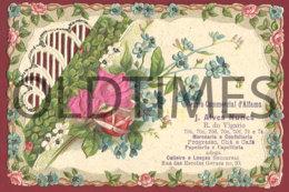 PORTUGAL - LISBOA - CENTRO COMERCIAL DE ALFAMA DE J. ALVES NUNES - 1915 OLD ADV. - Publicités
