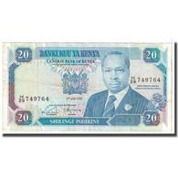 Billet, Kenya, 20 Shillings, 1992, 1992-01-02, KM:25e, TTB - Kenya