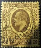 GB Edward VII 1902- 3d Purple And Yellow Used CDS EDINBURGH Cancel SG232/3/4?  JandRStamps - 1902-1951 (Kings)