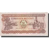 Billet, Mozambique, 50 Meticais, 1986, 1986-06-16, KM:129b, SPL - Mozambique