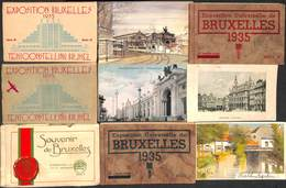 Bruxelles - Lot 97 Cartes (dont 6 Carnets) (animée, Expo...) - Belgique