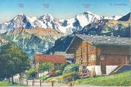 St.Beatenberg - Mit Phantasiepanorama           Ca. 1910 - BE Berne
