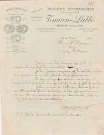 Facture 1916 / TANRON LABBE / Huilerie / Colza Navette Chenevis / 21 Semur / Côte D' Or - France