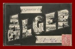 Alger * Souvenir   (scan Recto Et Verso ) - Alger