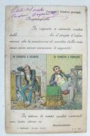 LE CONDIZIONI DI VENDITA DELLA MIA CASA SONO LE SEGUENTI: IO VENDEVO A CREDITO - IO VENDEVO A CONTANTI 1903 - Illustrateurs & Photographes
