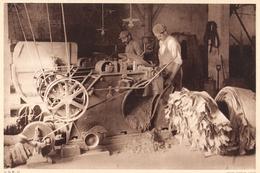 INDUSTRIE DU CUIR MACHINE A DERAYER  1944 - Vieux Papiers