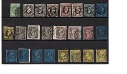 ALTDEUTSCHLAND-SACHSEN: Feines Lot Von 30 Marken Und Briefstücken. Michel Billigst 850,- - Ansehen Lohnt - Lots & Kiloware (max. 999 Stück)