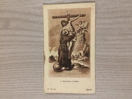 Santino S. Francesco D'Assisi - Images Religieuses