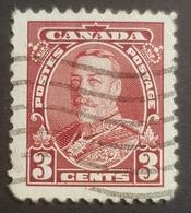 1935, King George V, Canada, Used - 1911-1935 Règne De George V