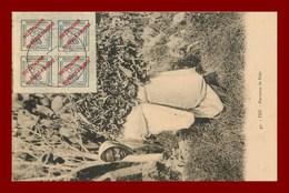 Fez * Porteuse De Bois   (scan Recto Et Verso ) - Fez (Fès)
