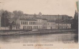 CPA Saintes - La Caserne Brémont-d'Ars (au Verso, Cachet Daguin De Saintes) - Saintes