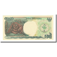 Billet, Indonésie, 500 Rupiah, 1992, KM:128g, NEUF - Indonésie