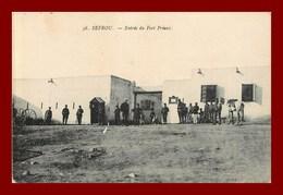 Sefrou * Entrée Du Fort Prieux   (scan Recto Et Verso ) - Maroc