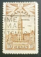 1942-1943, King George Vl, Canada, Used - 1937-1952 Règne De George VI