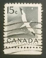 1953, National Wildlife Week, Birds, Fauna, Canada, Used - 1952-.... Règne D'Elizabeth II