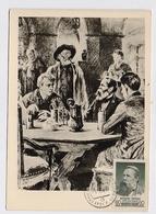 CARTE MAXIMUM CM Card USSR RUSSIA Theoretic Philosopher Engels Communist Journalist Germany - 1923-1991 URSS